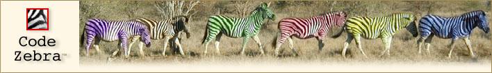 Code Zebra Header