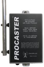 Procaster AM Transmitter