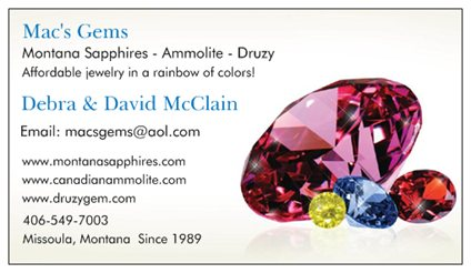 Mac's Gems card