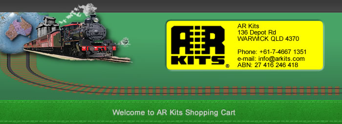 AR Kits Shopping Cart