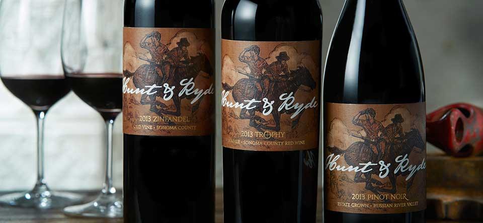 Hunt & Ryde Wine Cart