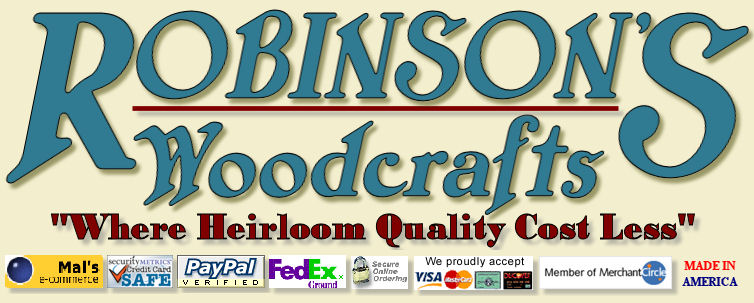 Robinson's Woodcrafts