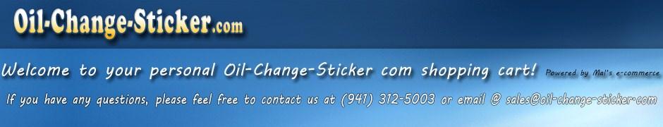 Custom Oil Stickers